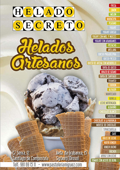 Flyers-Heladeria